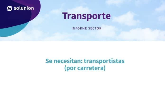 Informe Sector Transporte