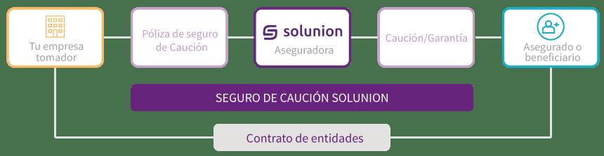 proceso seguro Caución Solunion