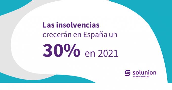 Las insolvencias en España en 2021Web