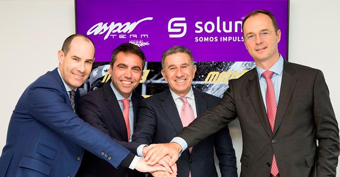 Solunion y Aspar Team unen sus fuerzas en Moto3, Moto2 y MotoE